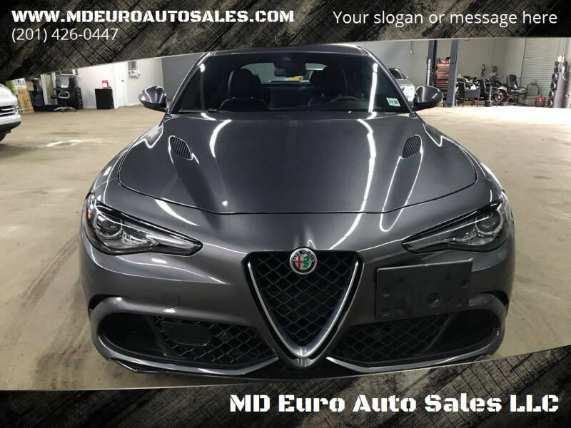 2017 Alfa Romeo Giulia Quadrifoglio for sale at MD Euro Auto Sales LLC in Hasbrouck Heights NJ
