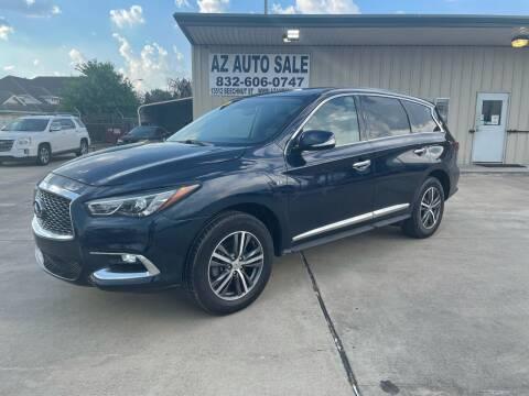 2018 Infiniti QX60 for sale at AZ Auto Sale in Houston TX