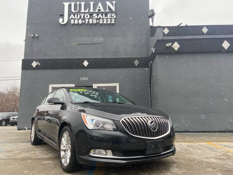 2014 Buick LaCrosse for sale at Julian Auto Sales, Inc. in Warren MI