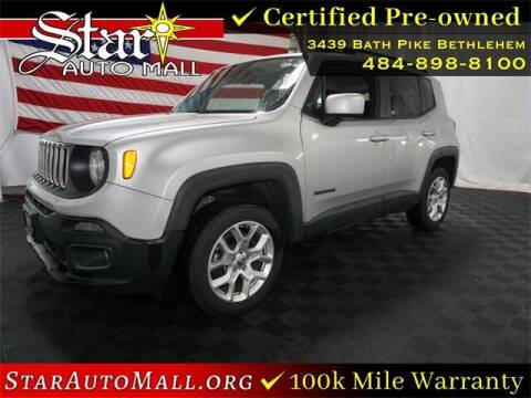 2017 Jeep Renegade for sale at STAR AUTO MALL 512 in Bethlehem PA