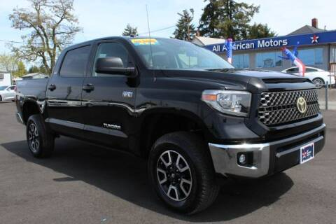 2018 Toyota Tundra for sale at All American Motors in Tacoma WA