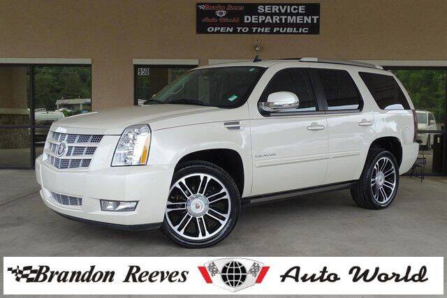 2013 Cadillac Escalade for sale at Brandon Reeves Auto World in Monroe NC
