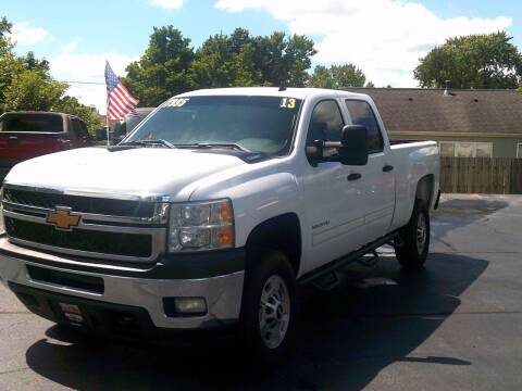 2013 Chevrolet Silverado 2500HD for sale at Stoltz Motors in Troy OH
