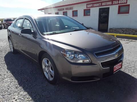 2012 Chevrolet Malibu for sale at Sarpy County Motors in Springfield NE