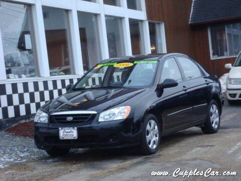 2009 Kia Spectra for sale at Cupples Car Company in Belmont NH
