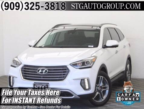 2018 Hyundai Santa Fe for sale at STG Auto Group in Montclair CA