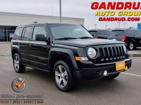 2016 Jeep Patriot for sale at Gandrud Dodge in Green Bay WI