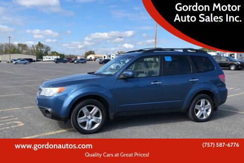 2009 Subaru Forester for sale at Gordon Motor Auto Sales Inc. in Norfolk VA