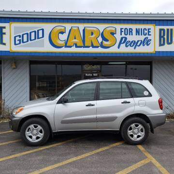 2005 Toyota RAV4 for sale at Good Cars 4 Nice People in Omaha NE