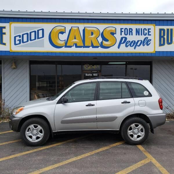 2005 Toyota RAV4 for sale at Good Cars 4 Nice People in Omaha NE
