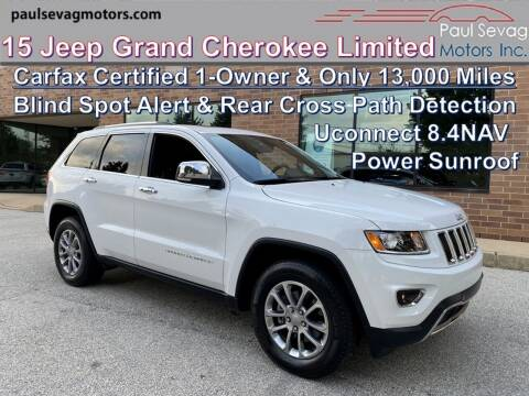 2015 Jeep Grand Cherokee for sale at Paul Sevag Motors Inc in West Chester PA