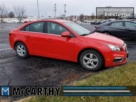 2016 Chevrolet Cruze Limited for sale at Mr. KC Cars - McCarthy Hyundai in Blue Springs MO