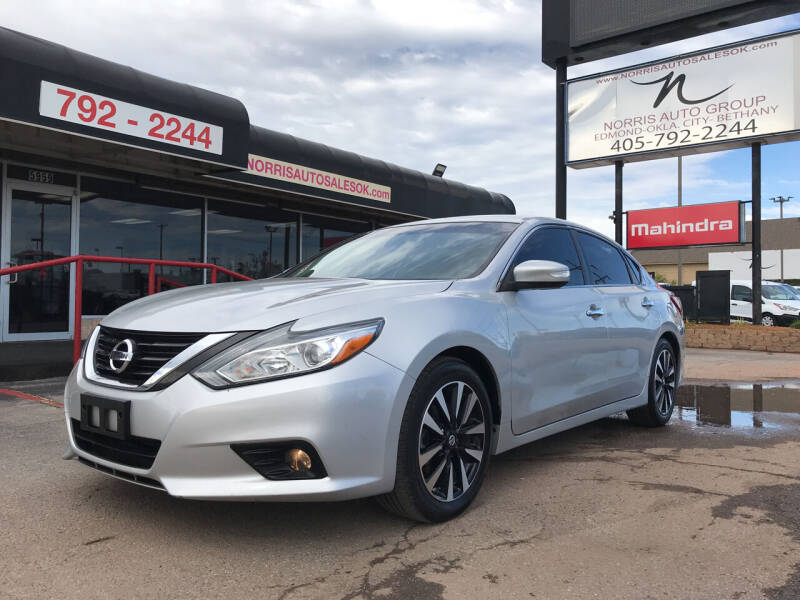 2018 Nissan Altima for sale at NORRIS AUTO SALES in Oklahoma City OK