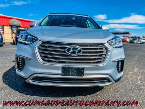 2017 Hyundai Santa Fe for sale at MAGNA CUM LAUDE AUTO COMPANY in Lubbock TX
