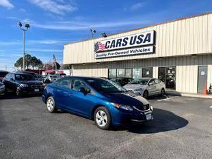 2013 Honda Civic for sale at Cars USA in Virginia Beach VA