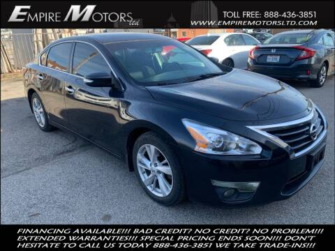 2015 Nissan Altima for sale at Empire Motors LTD in Cleveland OH