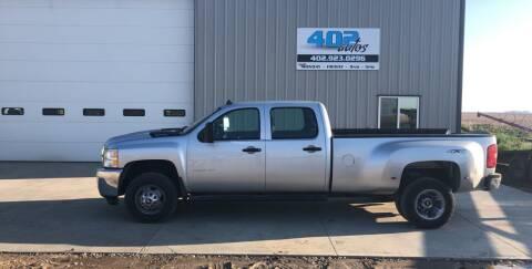 2013 Chevrolet Silverado 3500HD for sale at 402 Autos in Lindsay NE