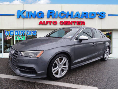 2016 Audi S3 for sale at KING RICHARDS AUTO CENTER in East Providence RI
