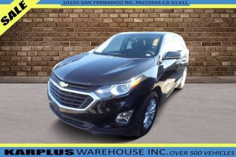 2020 Chevrolet Equinox for sale at Karplus Warehouse in Pacoima CA