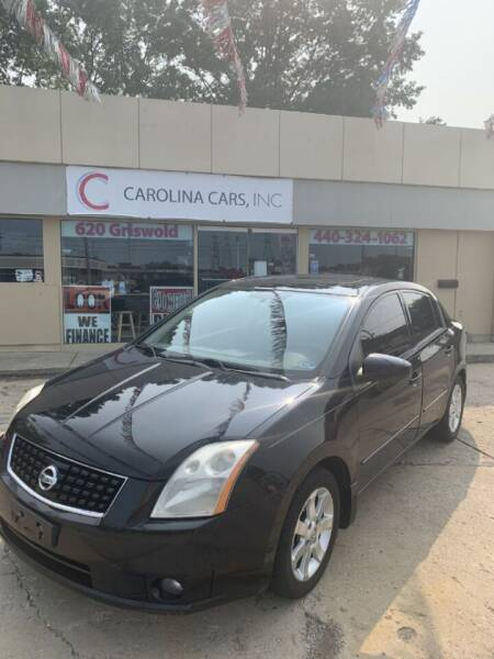 2008 Nissan Sentra for sale at Carolina Cars, Inc. in Elyria OH
