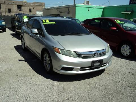 2012 Honda Civic for sale at DESERT AUTO TRADER in Las Vegas NV