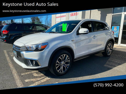 2019 Mitsubishi Outlander Sport for sale at Keystone Used Auto Sales in Brodheadsville PA