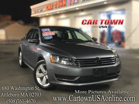 2014 Volkswagen Passat for sale at Car Town USA in Attleboro MA