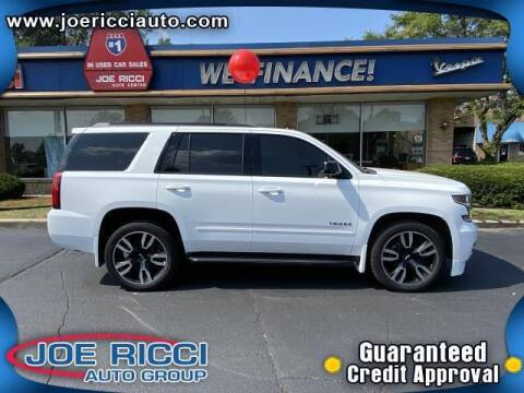 2018 Chevrolet Tahoe for sale at JOE RICCI AUTOMOTIVE in Clinton Township MI