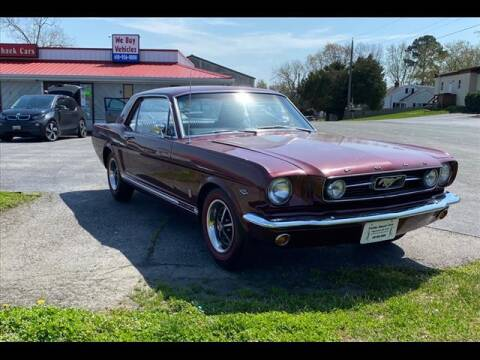 1966 Ford Mustang for sale at CADDY SHACK CARS in Edgewater MD