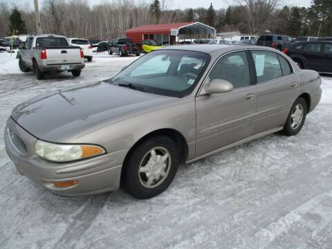 2001 Buick LeSabre for sale at D & T AUTO INC in Columbus MN