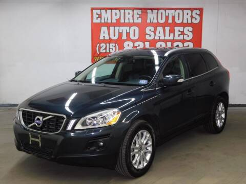 2010 Volvo XC60 for sale at EMPIRE MOTORS AUTO SALES in Philadelphia PA