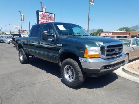 2002 Ford F-250 Super Duty for sale at ATLAS MOTORS INC in Salt Lake City UT