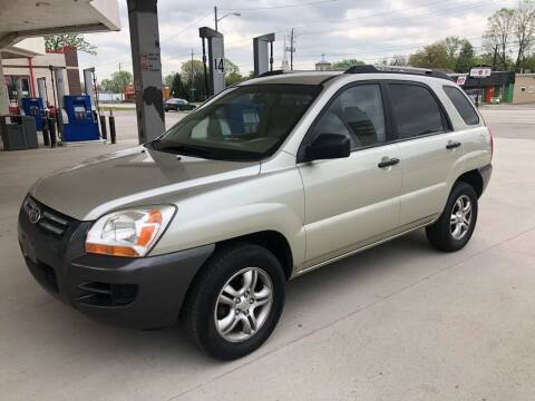 2006 Kia Sportage for sale at JE Auto Sales LLC in Indianapolis IN