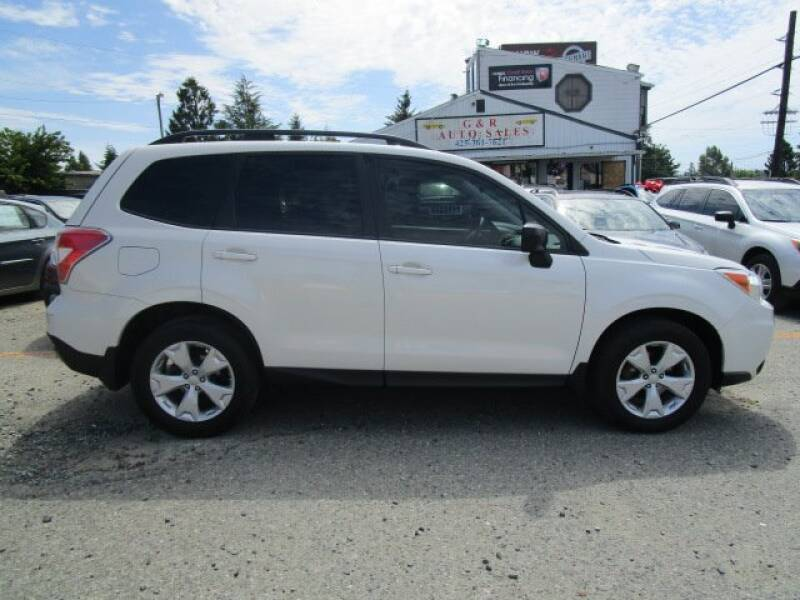 2015 Subaru Forester for sale at G&R Auto Sales in Lynnwood WA