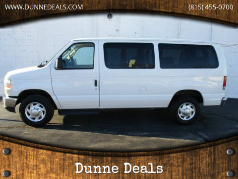 2012 Ford E-Series Wagon for sale at Dunne Deals in Crystal Lake IL