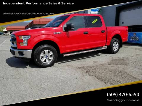 2015 Ford F-150 for sale at Independent Performance Sales & Service in Wenatchee WA