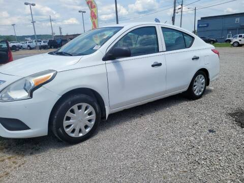 2015 Nissan Versa for sale at Sissonville Used Car Inc. in South Charleston WV