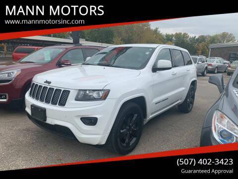 2014 Jeep Grand Cherokee for sale at MANN MOTORS in Albert Lea MN