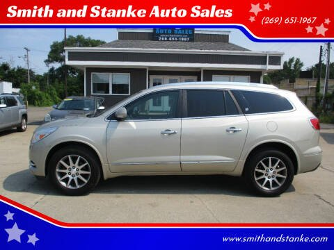 2014 Buick Enclave for sale at Smith and Stanke Auto Sales in Sturgis MI