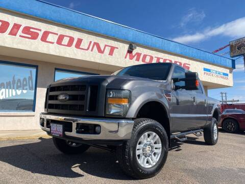 2008 Ford F-250 Super Duty for sale at Discount Motors in Pueblo CO