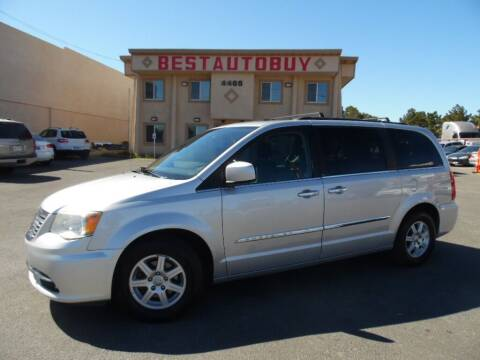 2011 Chrysler Town and Country for sale at Best Auto Buy in Las Vegas NV