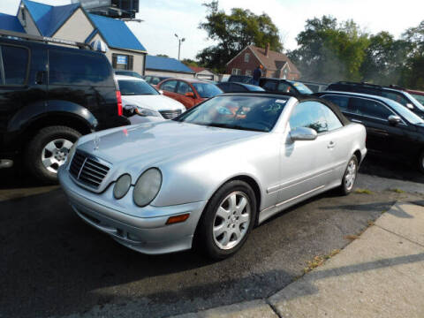 2003 Mercedes-Benz CLK for sale at WOOD MOTOR COMPANY in Madison TN