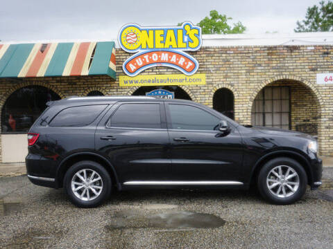 2014 Dodge Durango for sale at Oneal's Automart LLC in Slidell LA