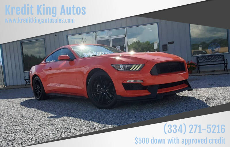2016 Ford Mustang for sale at Kredit King Autos in Montgomery AL