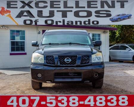 2005 Nissan Titan for sale at Excellent Autos of Orlando in Orlando FL