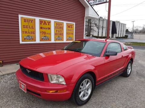2006 Ford Mustang for sale at Mack's Autoworld in Toledo OH