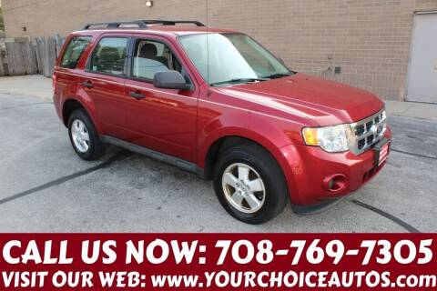 2012 Ford Escape for sale at Your Choice Autos in Posen IL