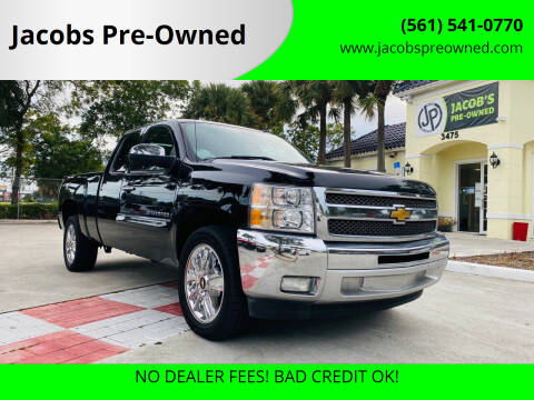 2012 Chevrolet Silverado 1500 for sale at Jacobs Pre-Owned in Lake Worth FL