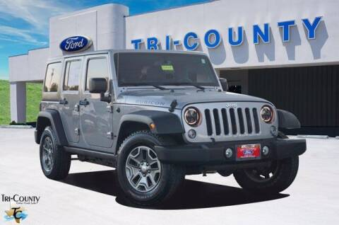 2014 Jeep Wrangler Unlimited for sale at TRI-COUNTY FORD in Mabank TX