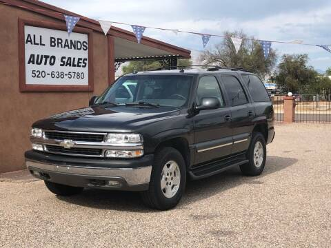 2004 Chevrolet Tahoe for sale at All Brands Auto Sales in Tucson AZ